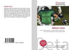 Couverture de Adrian Cann