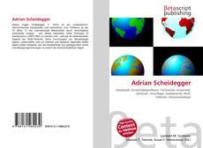 Couverture de Adrian Scheidegger