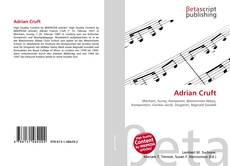 Buchcover von Adrian Cruft