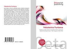 Bookcover of Yekaterina Furtseva