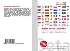 Adrian Mihai Cioroianu kitap kapağı