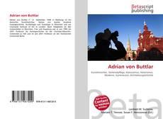 Portada del libro de Adrian von Buttlar