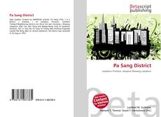 Bookcover of Pa Sang District