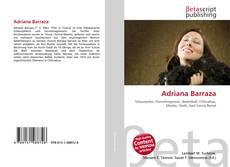 Portada del libro de Adriana Barraza