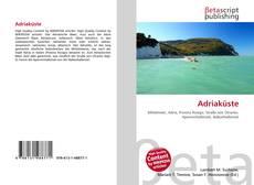 Adriaküste的封面