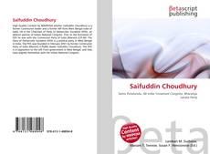 Bookcover of Saifuddin Choudhury