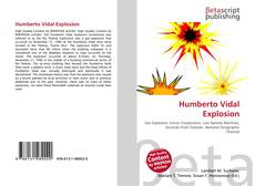 Bookcover of Humberto Vidal Explosion