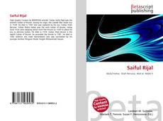 Обложка Saiful Rijal