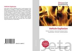 Bookcover of Vehicle Explosion