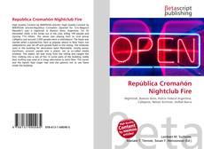 Portada del libro de República Cromañón Nightclub Fire
