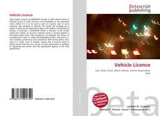 Buchcover von Vehicle Licence