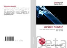 Bookcover of Saifuddin Abdullah