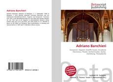 Bookcover of Adriano Banchieri