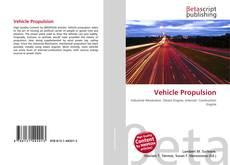 Couverture de Vehicle Propulsion