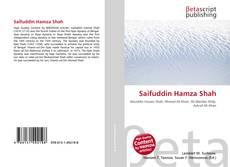 Saifuddin Hamza Shah kitap kapağı
