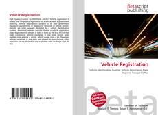 Bookcover of Vehicle Registration