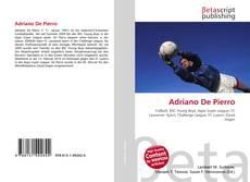 Bookcover of Adriano De Pierro
