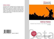 Bookcover of Adrian Hates