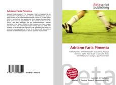 Capa do livro de Adriano Faria Pimenta
