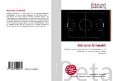 Portada del libro de Adriano Grimaldi