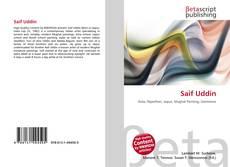Saif Uddin kitap kapağı