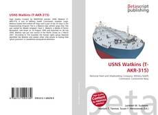 Bookcover of USNS Watkins (T-AKR-315)