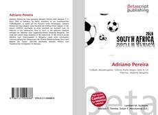 Capa do livro de Adriano Pereira