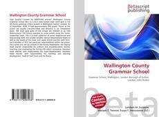 Bookcover of Wallington County Grammar School