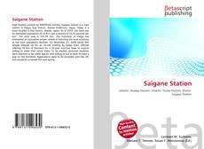 Saigane Station kitap kapağı