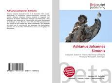 Capa do livro de Adrianus Johannes Simonis