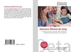 Portada del libro de Adrianus Michiel de Jong