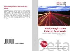 Capa do livro de Vehicle Registration Plates of Cape Verde