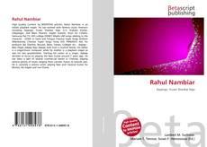 Bookcover of Rahul Nambiar