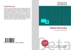 Bookcover of Rafail Ostrovsky