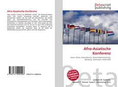 Couverture de Afro-Asiatische Konferenz