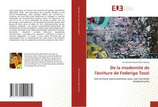 Bookcover of De la modernité de l'écriture de Federigo Tozzi