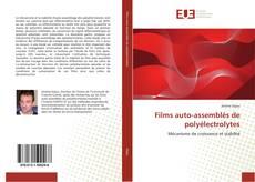 Bookcover of Films auto-assemblés de polyélectrolytes