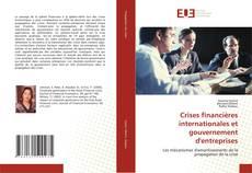 Couverture de Crises financières internationales et gouvernement d'entreprises