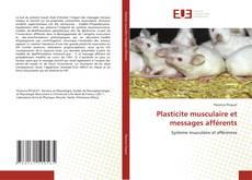 Buchcover von Plasticite musculaire et messages afférents