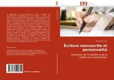 Bookcover of Écriture manuscrite et personnalité