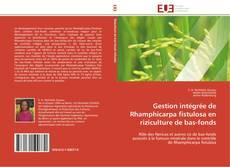 Portada del libro de Gestion intégrée de Rhamphicarpa fistulosa en riziculture de bas-fonds