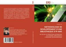 METHODOLOGIE DE DEVELOPPEMENT D'UNE BIBLIOTHEQUE D'IP-AMS kitap kapağı