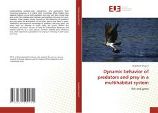 Portada del libro de Dynamic behavior of predators and prey in a multihabitat system