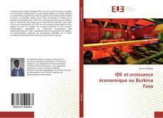 Bookcover of IDE et croissance économique au Burkina Faso