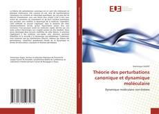 Bookcover of Théorie des perturbations canonique et dynamique moléculaire