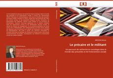 Capa do livro de Le précaire et le militant