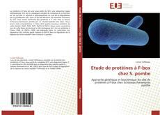 Capa do livro de Etude de protéines à F-box chez S. pombe
