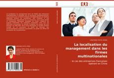 Обложка La localisation du management dans les firmes multinationales