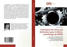 Buchcover von Techniques de Vision par Ordinateur pour le Micro-assemblage de MEMS
