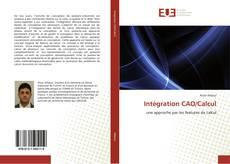 Buchcover von Intégration CAO/Calcul